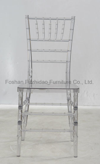 Cheap Transparent Design Resin Chiavari Wedding Chair for Wedding Party pictures & photos