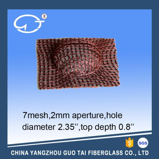 Molten Steel Filtering Mesh pictures & photos