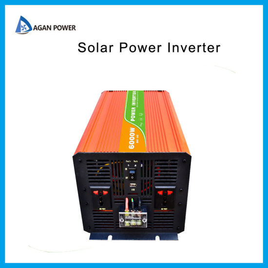 DC AC Converter off Grid Pure Sine Wave 3000 Watt 3kw 6000W Inverter Solar Power Inverter 12V 24V 110V 220V 240V