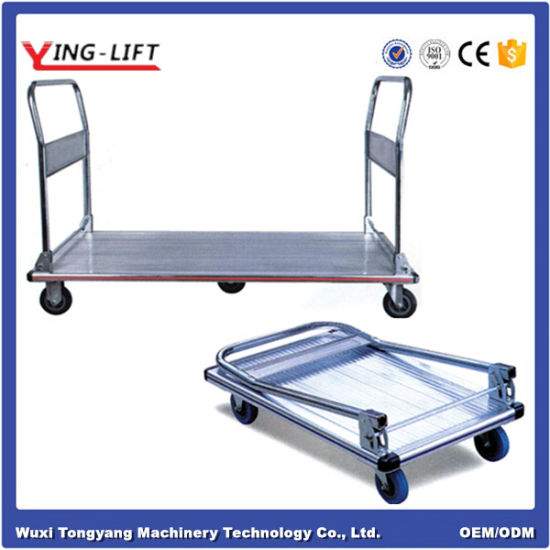 Foldable Aluminum Platform Truck pictures & photos