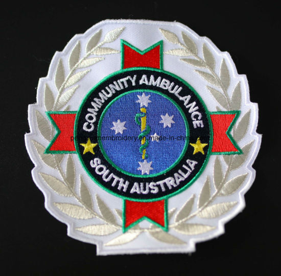 Custom Embroidered Patch, 3D Embroidery Badge