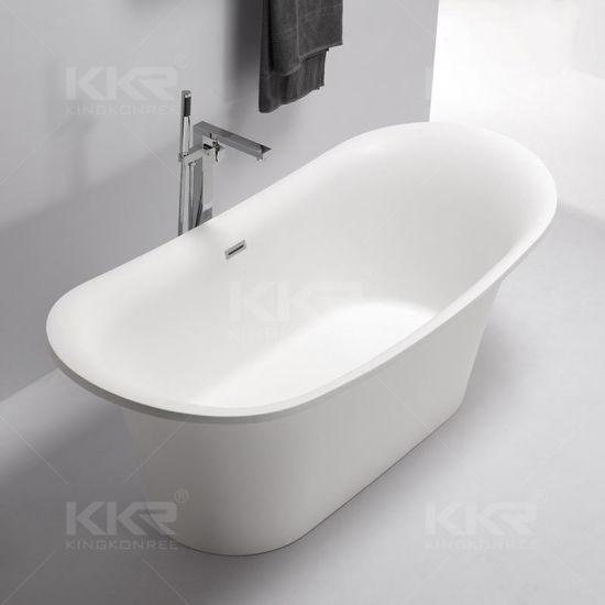 Superb 52inch Corian Solid Surface Bathtub