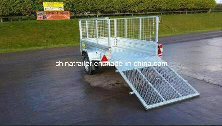 Hot Dipped Galvanised Box Uitlity Trailer pictures & photos