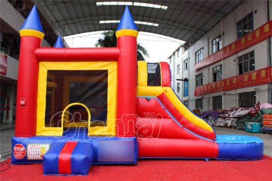PVC Inflatable Bouncy House Water Slide for Kids (CHSL296-1) pictures & photos
