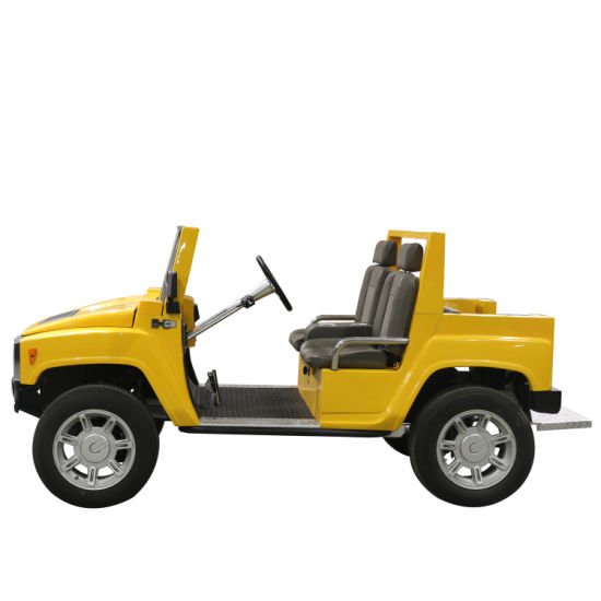 Electric 4WD Hummer Golf Electric Car Independent Suspension for Sale
