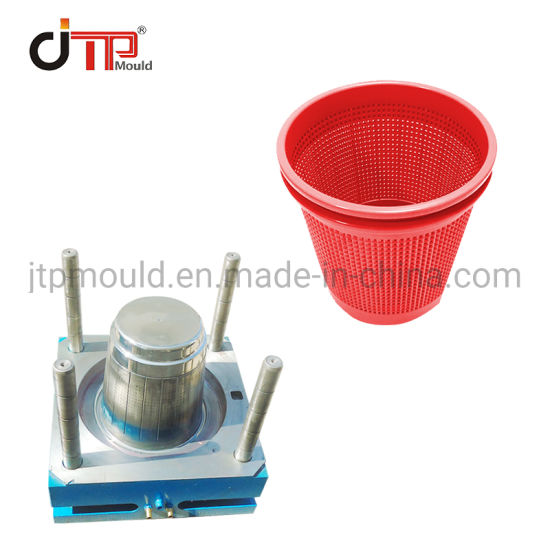 China High Quality Plastic Injection Hollow out Paper Basket Mould
