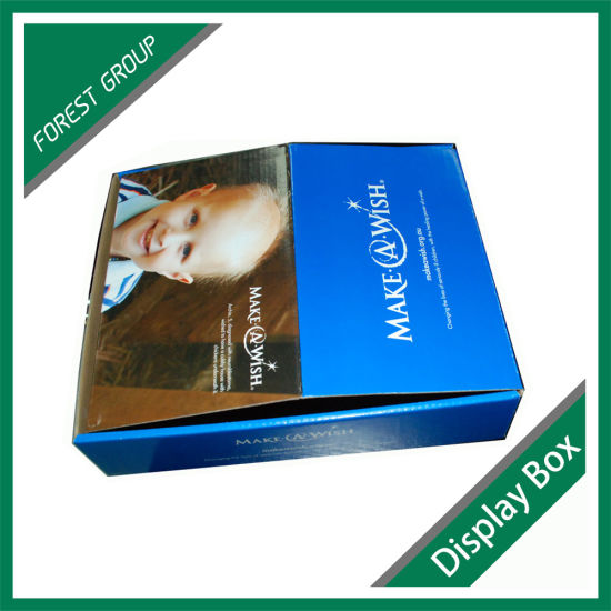 Customized Corrugated Paper Display Box pictures & photos