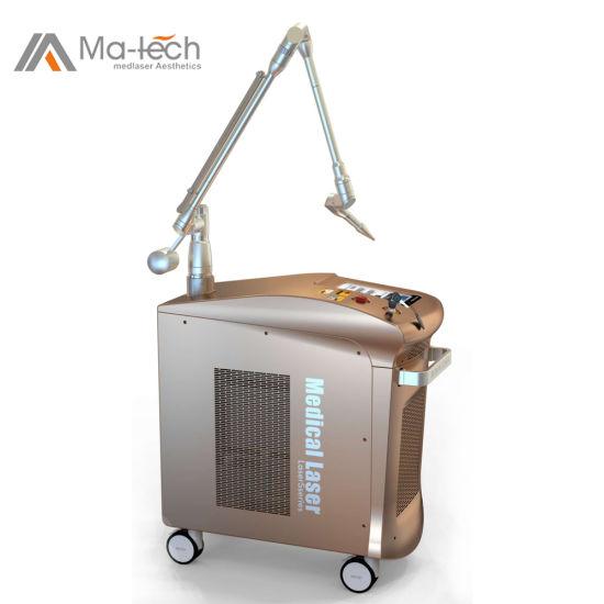 585nm/650nm/1064nm/532nm Pico Second ND YAG Q-Switched Laser Melasma Treatment Machine