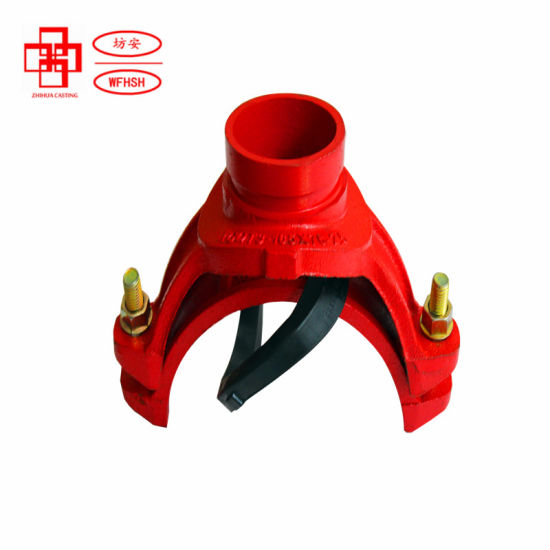 Ductile Iron ASTM a-536 Grade 65-45-15 Grooved Fittings Grooved Mechanical Tee