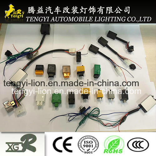 12V LED Automotive Cheap Electricauto Flasher Relay 3pin with Wire pictures & photos
