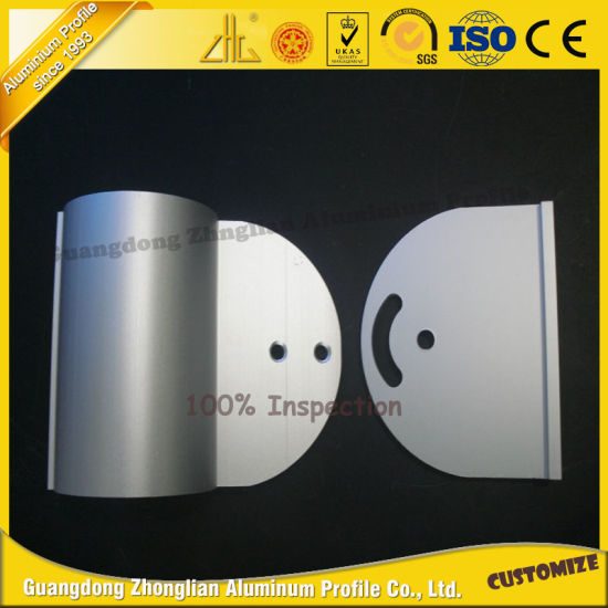 OEM Aluminium Profile CNC Machining for Decoration pictures & photos