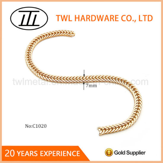 New Ings Shiny Snake Metal Chains For Handbags High Quality