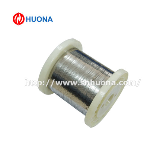 Ni80cr20 Nickel Alloy Flat Heating Wire for Braking Resistor pictures & photos
