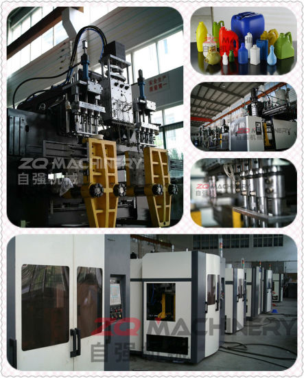 2-16L PE Oil Can Container Extrusion Blowing Machine pictures & photos