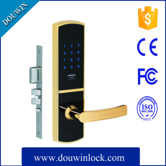 High Quality Apartment Electronic Swipe Card Key Door Lock pictures & photos