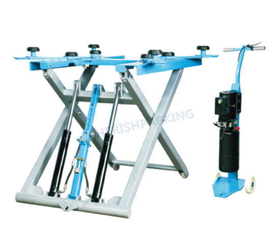 Double Hydraulic Manual Release Scissor Car Lift for Home Garage