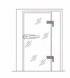 Gh01 Stainless Steel Glass Hinge pictures & photos