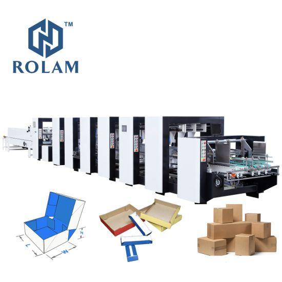 Auto Packaging Box Making Machine (GK-1600PCS)