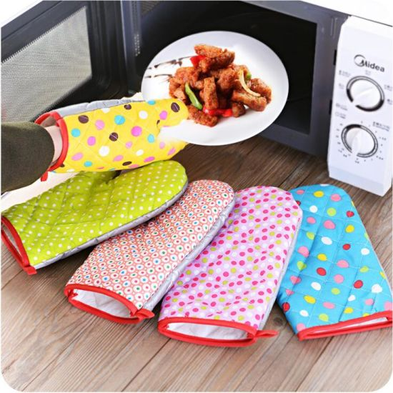 New Product Customized Oven Mitt and Kitchen Oven Gloves pictures & photos