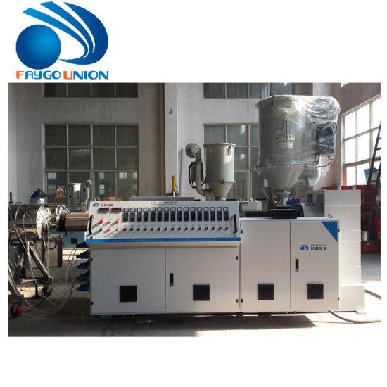 PE PPR Pipe Extrusion Machine/Sj 65 Extruder PE Pipe Production Line