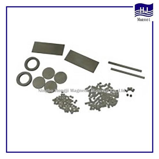 Different Shape Wafer Cylinder Block Rubber Magnet