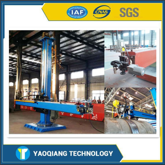 Auto-Welding Manipulator for Pipe Cylinder Inside and Outside