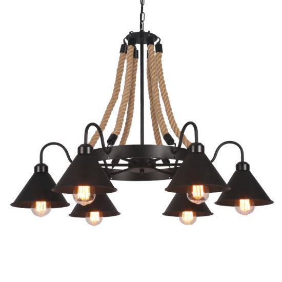 Industrial Modern Chandelier for Dinner Room Coffee Bar Decoration