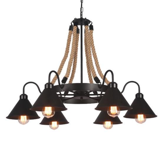 Industrial Pendant Lamp for Dinner Room Lighting