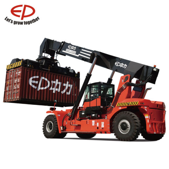 Ep Energy-Saving 45 Ton Reach Stacker Forklift for Containers