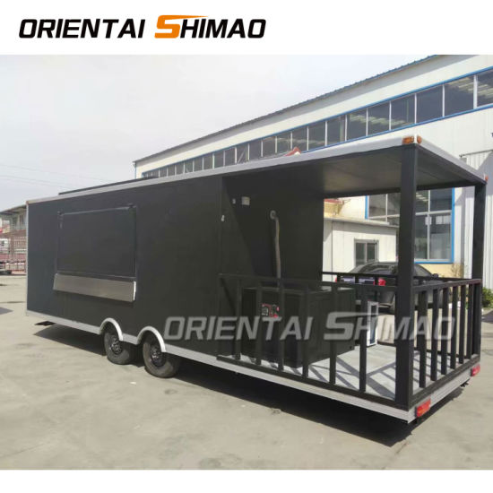 Hot Popular Cheap Price Fast Delivery Steel Mobile Food Truck