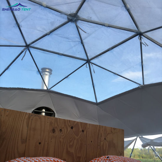 Aluminum Alloy Event Geodesic Camping Dome Tent for Outdoor