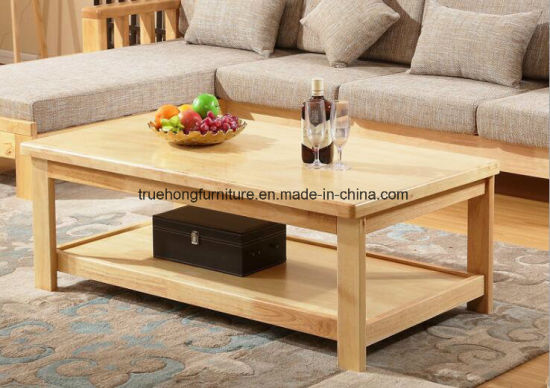 China Wooden Furniture Coffee Table Set
