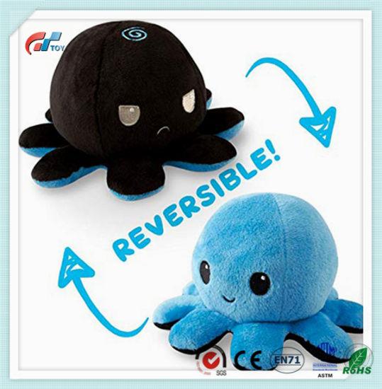 Octopus Plush Reversible Toy Animal Doll