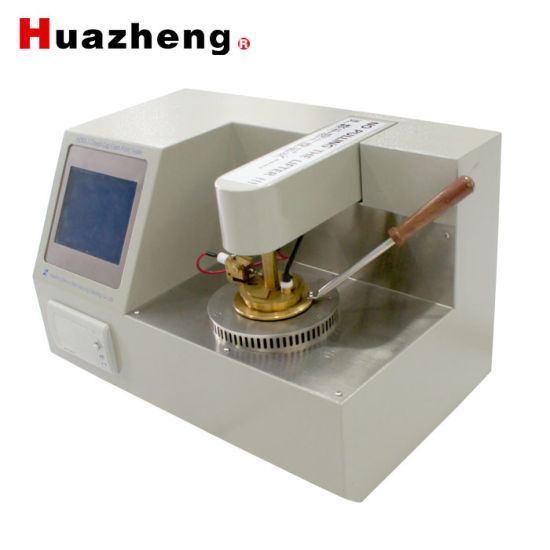 2020 Automatic Oil Closed Cup Method Flash Point Testing Meter