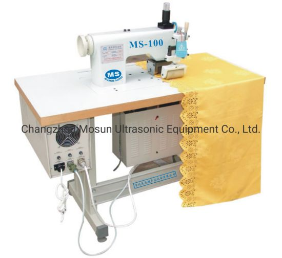 Ultrasonic Lace Cutting Machine for Making Ribbons