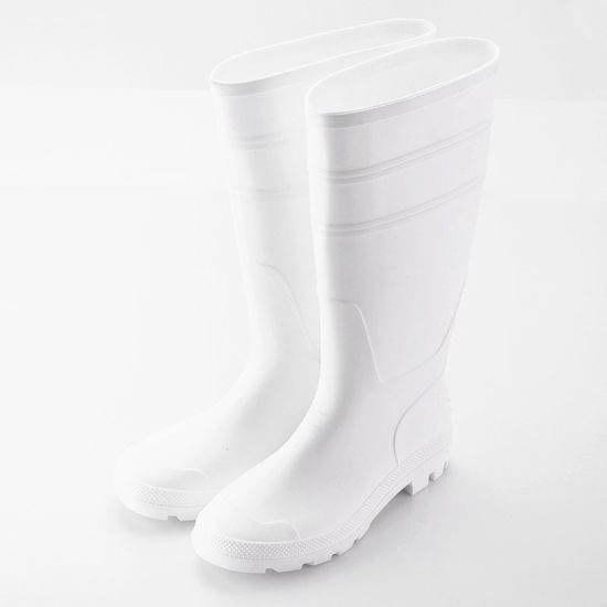 df49ff4e23c China Wellies Gumboots PVC White Safety Rubber Boots for Food ...