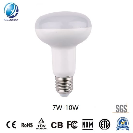 LED Bulb Light R63 Type Bulb Smooth Surface 7W-10W 630lm-900lm Ce RoHS