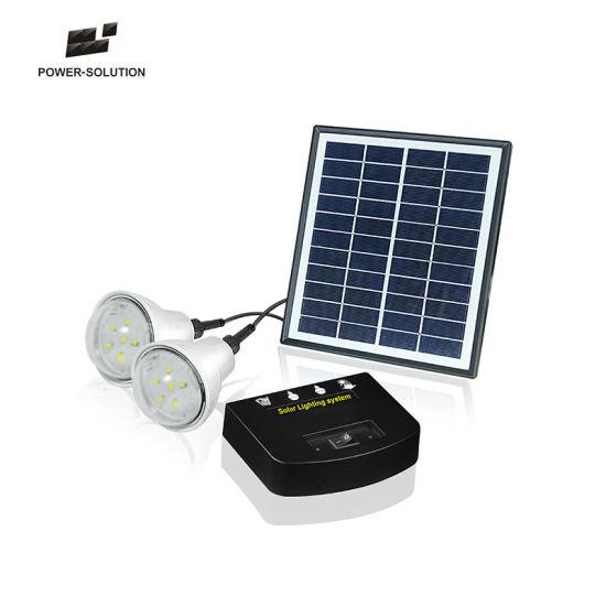 4w Portable Solar Lighting System For Rural House