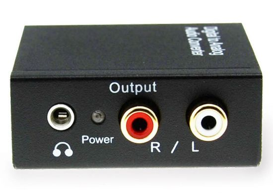 Optical Coaxial RCA Toslink Signal to Analog Audio Converter pictures & photos