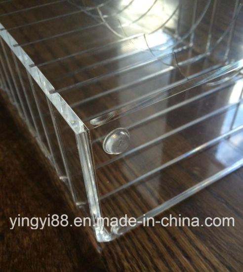 Crystal Clear Acrylic Makeup Organizer for Sale pictures & photos