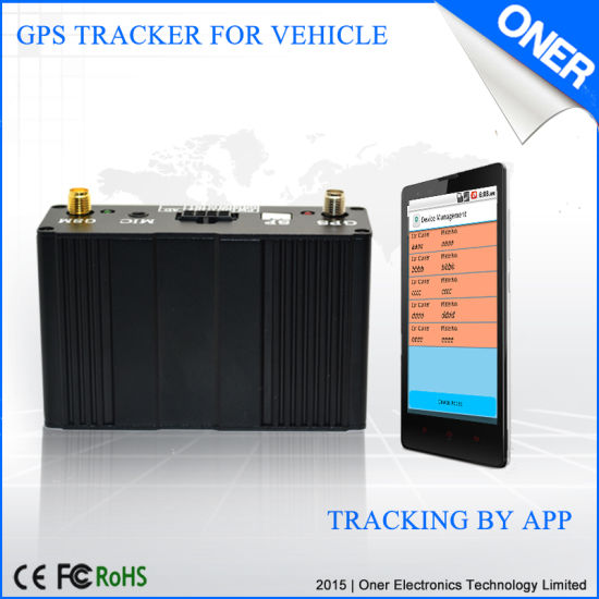 GPS Tracker with Temperature Monitoring for Reefer Trucks pictures & photos