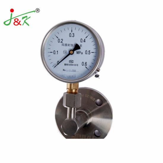 Flange Mf3 / Sanitary Diaphragm-Seal Pressure Gauge