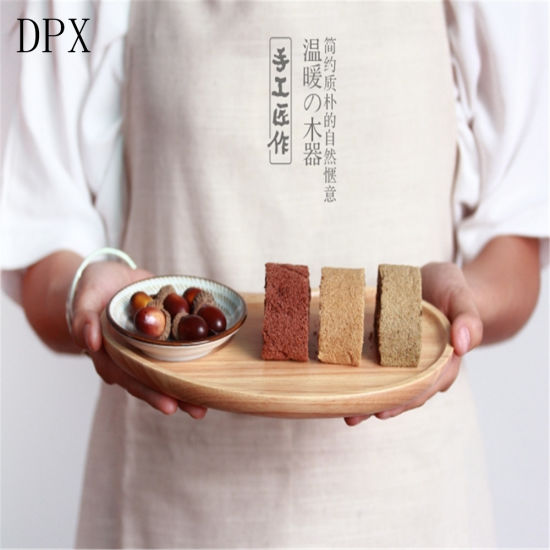 Kitchenare Tool Tableware Plate Japanese Style Good Quality Shape Customized Wooden Breakfast Plate pictures & photos