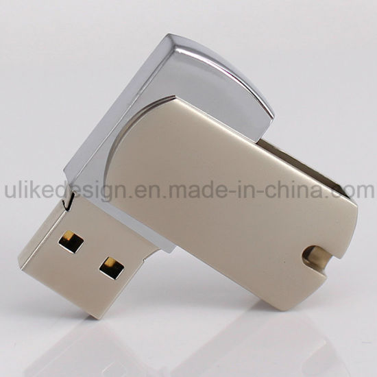 Swivel Metal USB Flash Drive (UL-M016) pictures & photos