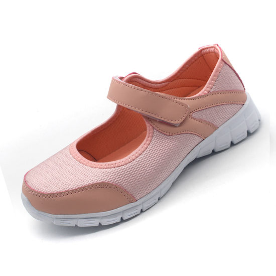 Fashion Sneaker Footwear Casual Lady Shoes Sport with EVA Sole