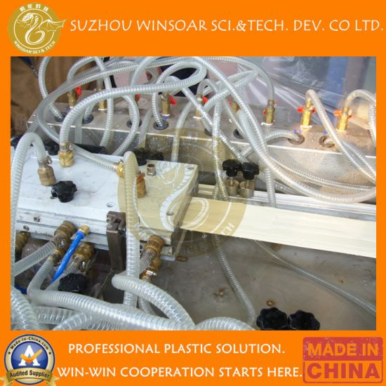 Wholesale Plastic Twin Double Screw Extruder PVC Wall Ceiling Panel Profile Extrusion Production Line