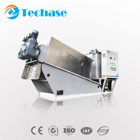 Chemical Sludge Volute Dewatering Multi Plate Screw Press Separator