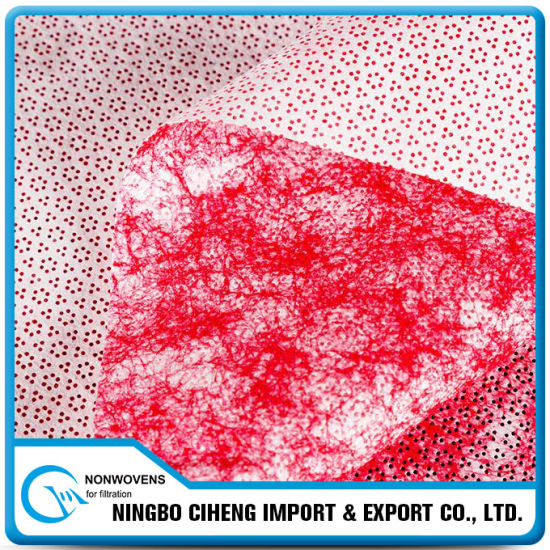Red Meltblown Polypropylene Non Woven Cleaning Cloth