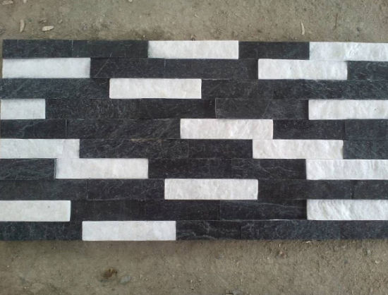 Hot Sell China Yellow Black Slate Cement Stone Veneer pictures & photos
