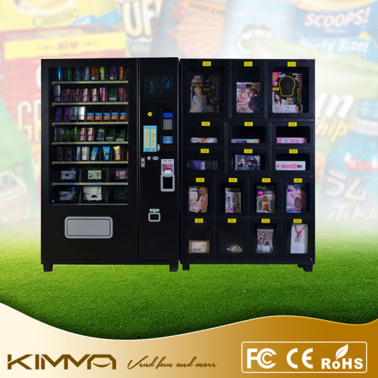 China Combo Condom Vending Machine to Accept Bill and Coin Payment